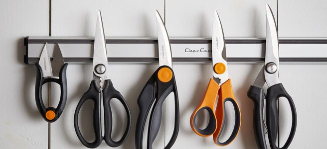 Fiskars Cuts and Extra Ideal Energy Scissors